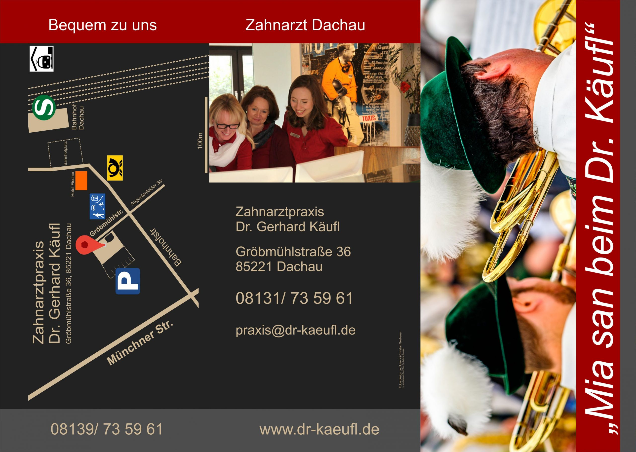 Prospekt Zahnarzt Dachau Bild